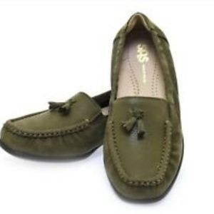 SAS Hope Slip On Loafer Green Tundra 8.5 W USA